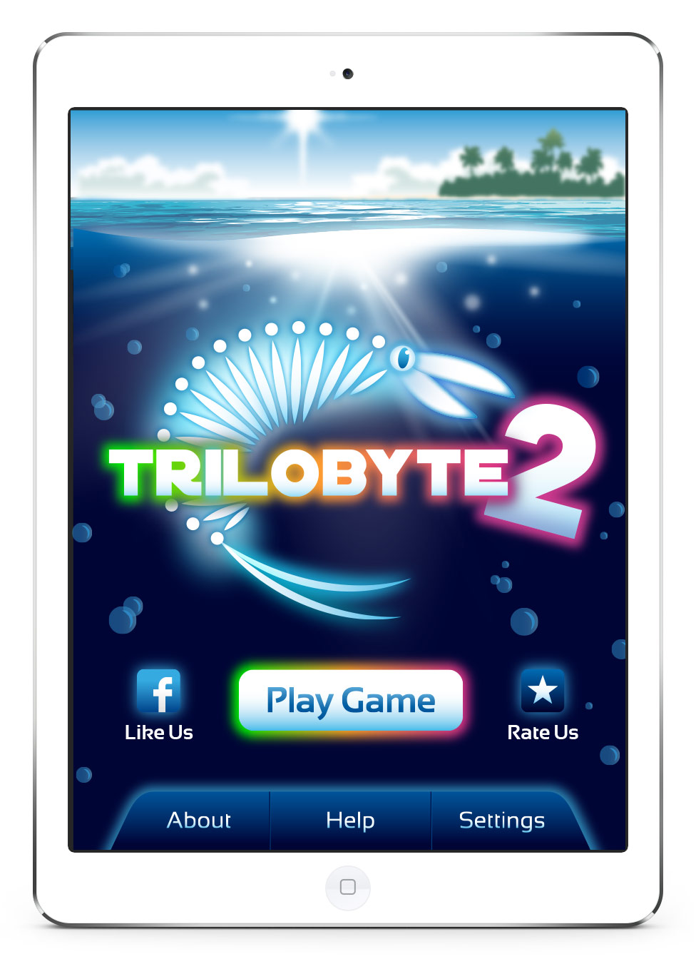 Trilobyte 2 Home Screen