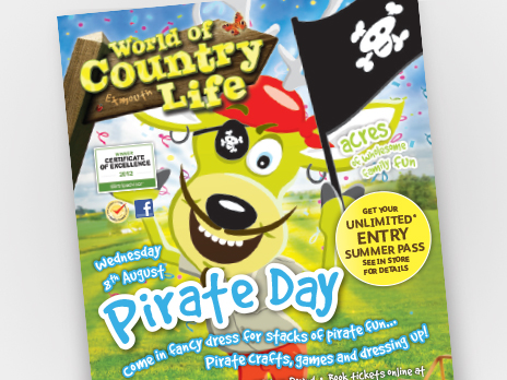 World of Country Life Flyer