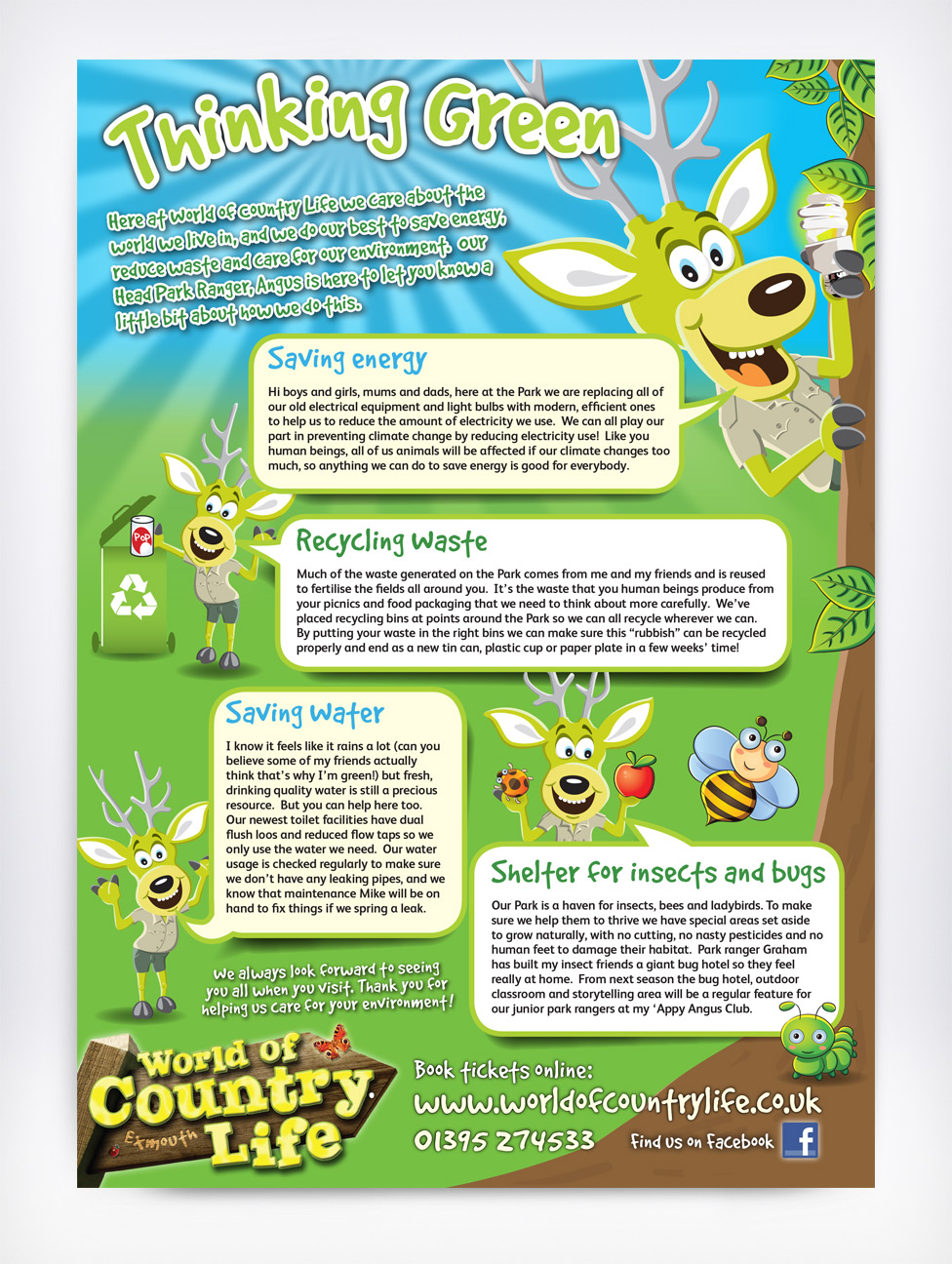 World of Country Life Information Sheet
