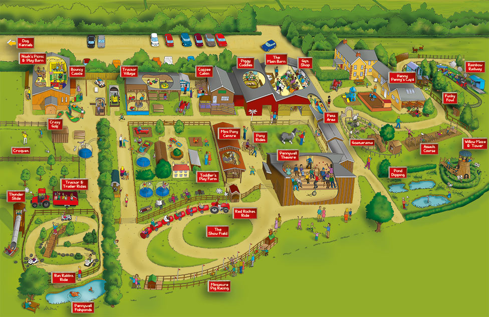 Pennywell Farm Map