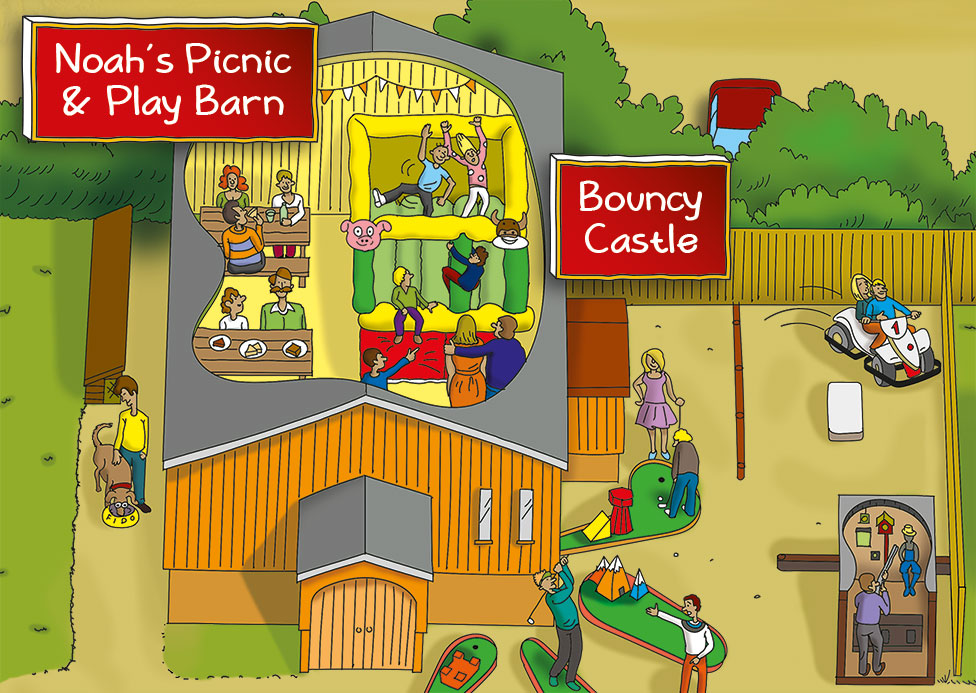 Pennywell Farm Map Play Barn